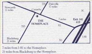 The Home Place directions